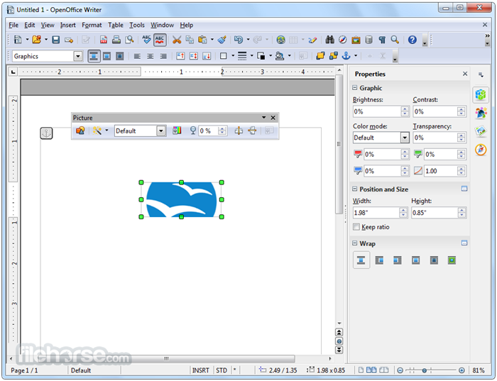 Apache openoffice 4 1 1 an alternative to ms office - Open office download for windows 7 64 bit ...