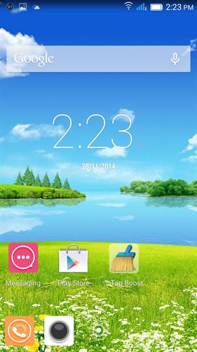Gionee marathon m3 image screenshot