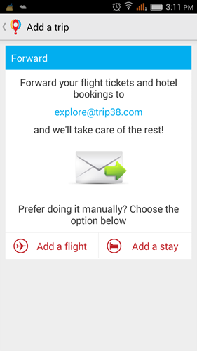 Trip38 travel assistant print e-ticket