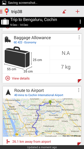 Trip38 travel assistant baggage allowance