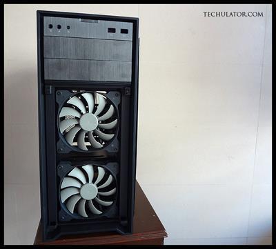 Corsair 450D front fans