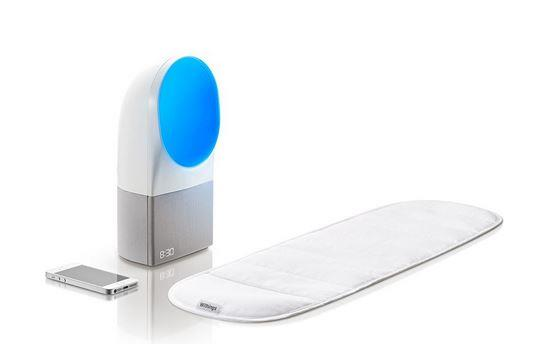 Withings Aura bedside sleep monitor