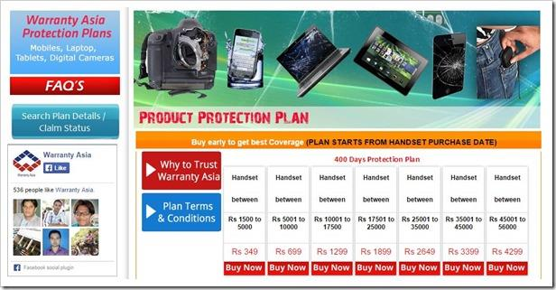 Warranty Asia Company