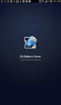 The DU Battery Saver icon