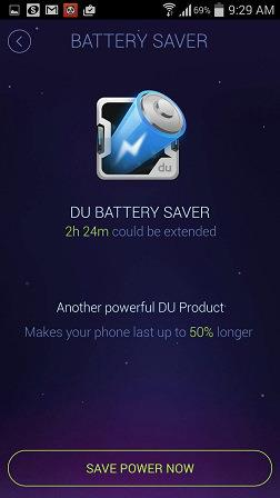 DU Speed Booster Battery Saver