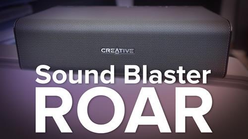 Creative Sound Blaster Roar Bluetooth Speaker