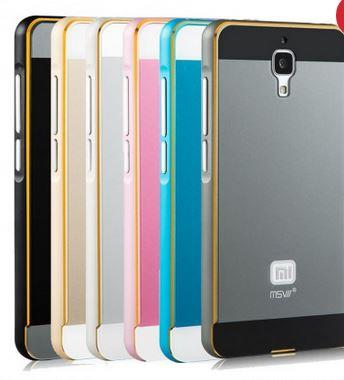 Metal bumper frame covers for Xiaomi Mi4