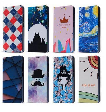 Painting series leather covers for Xiaomi Mi4