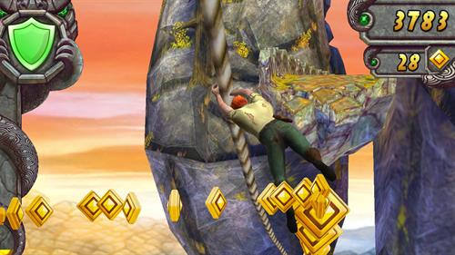 temple run game free  for apple ipad