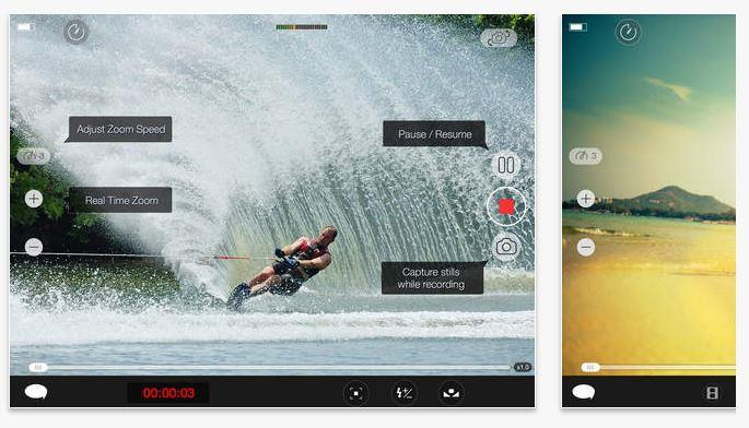 MoviePro Video Capturing app screenshots