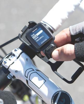 TomTom Multi-Sport bike mounted sports watch