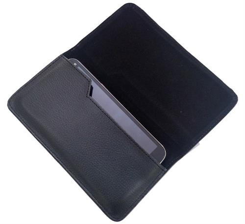 HORIZONTAL LEATHER CARRY CASE for Yu Yureka