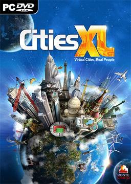 Cities XL PC Box Art