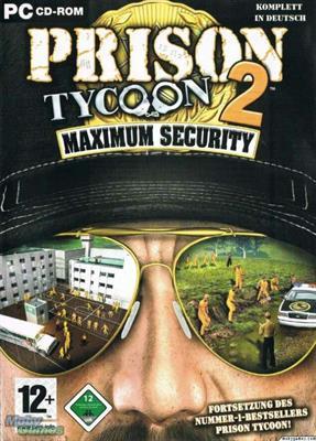 Prison Tycoon 2 - Maximum Security PC Box Art