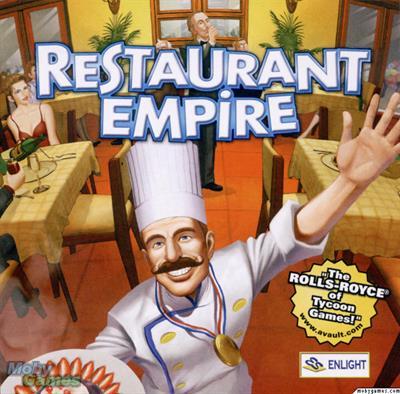 Restaurant Emprire/Tycoon PC Box Art