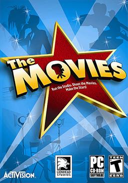 The Movies PC Game Box Art