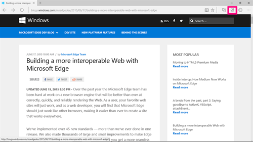 how to highlight a pdf in microsoft edge