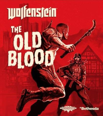 Wolfenstein - The Old Blood video game box cover art