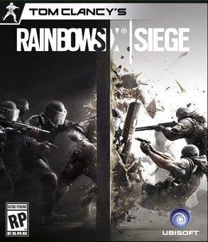Tom Clancys Rainbow Six Seige video game box cover art