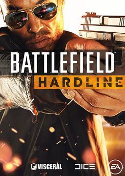 Battlefield Hardline video game box cover art