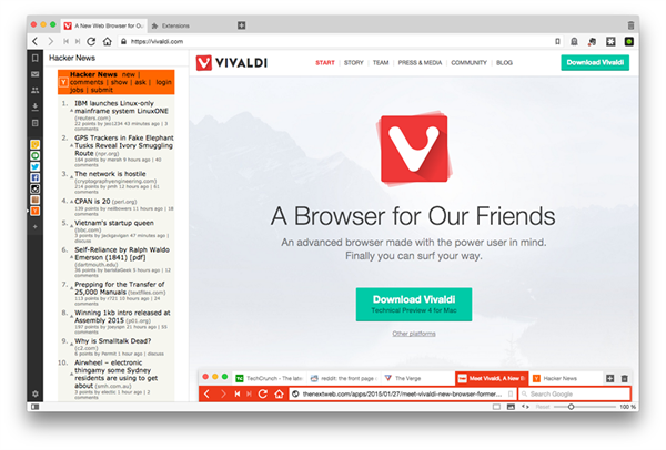 vivaldi download browser