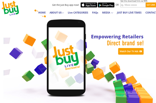 Just Buy Live Website
