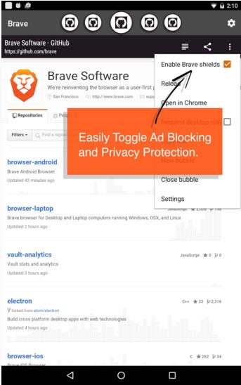 brave app privacy