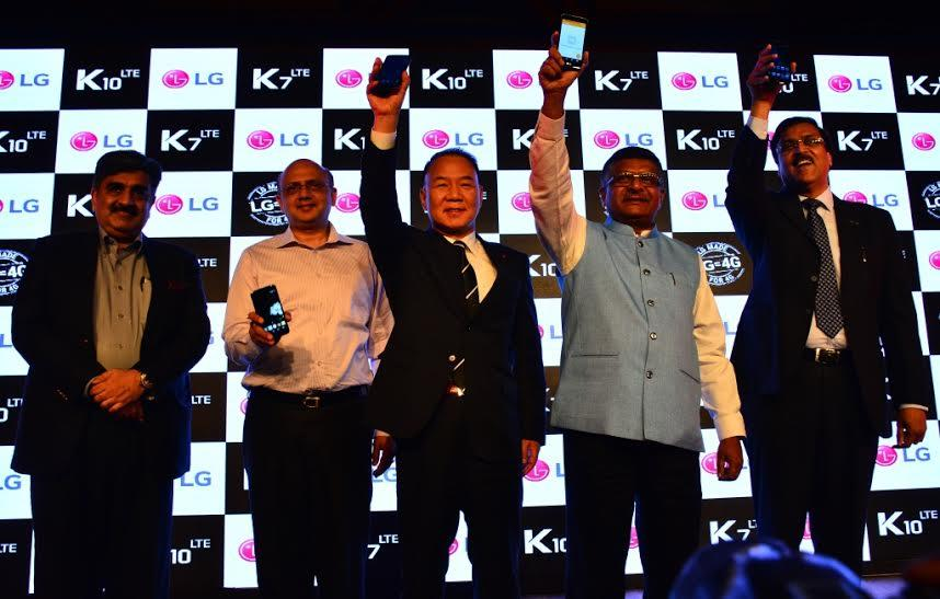 LG Launches K Series Smartphones LG K7 and LG K10 in India