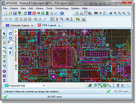 proteus 8 professional - a useful tool for electronic engineers, Schematic