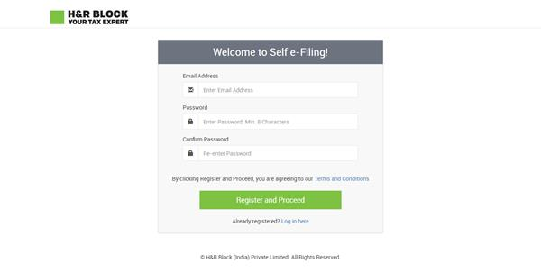 Self E-File Income Tax Return or Assisted Online Tax Filing.