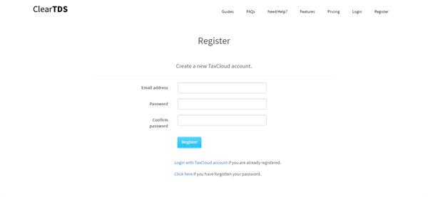 Registration Process in ClearTax