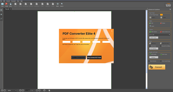 PDF Converter Elite 4 Desktop version