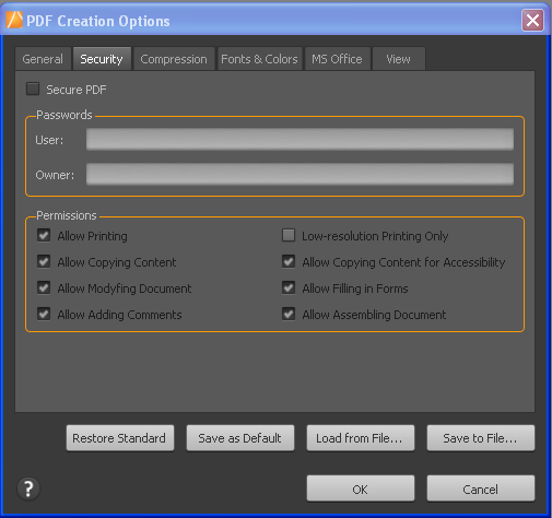 Create PDF in PDF Converter