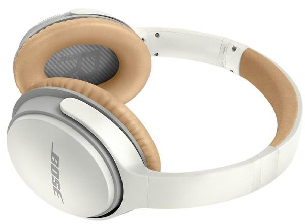 Bose 741158-0020 SoundLink Wireless Around-Ear Headphones with Mic