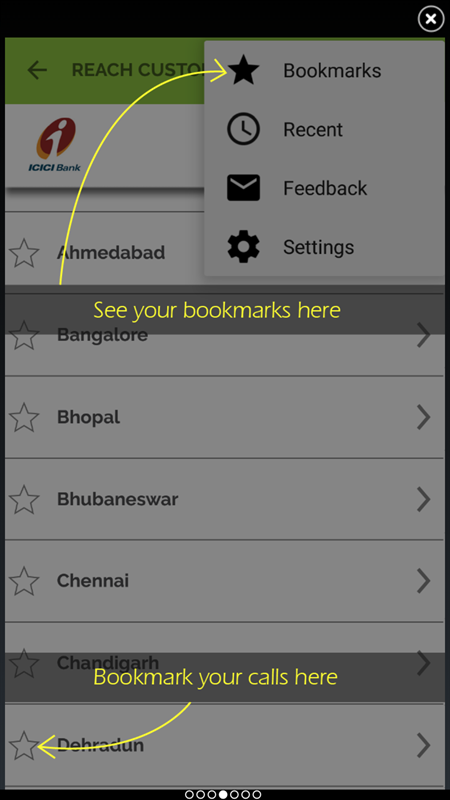 Add bookmark in BreezeIVR