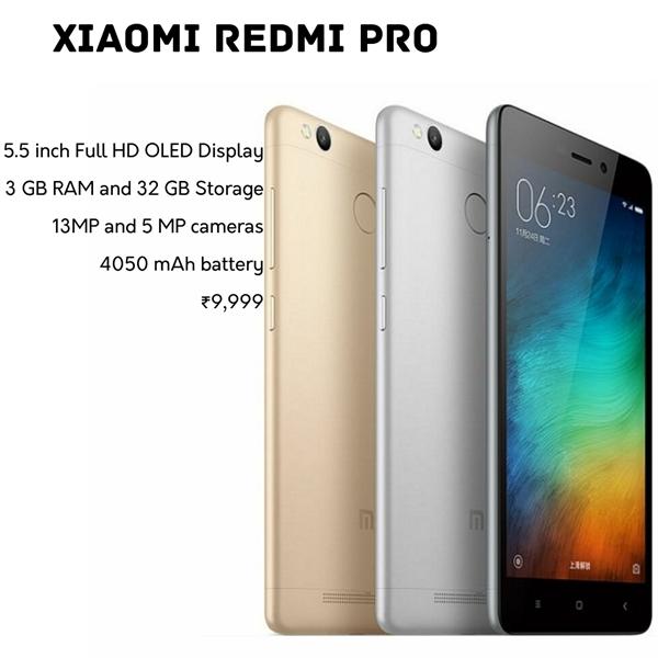 xiaomi redmi pro images price