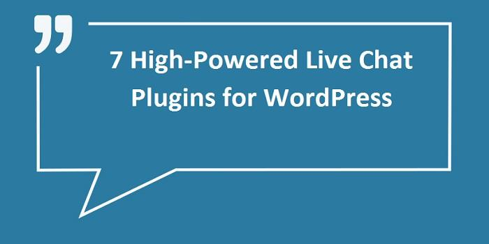 high powered live chat plug in