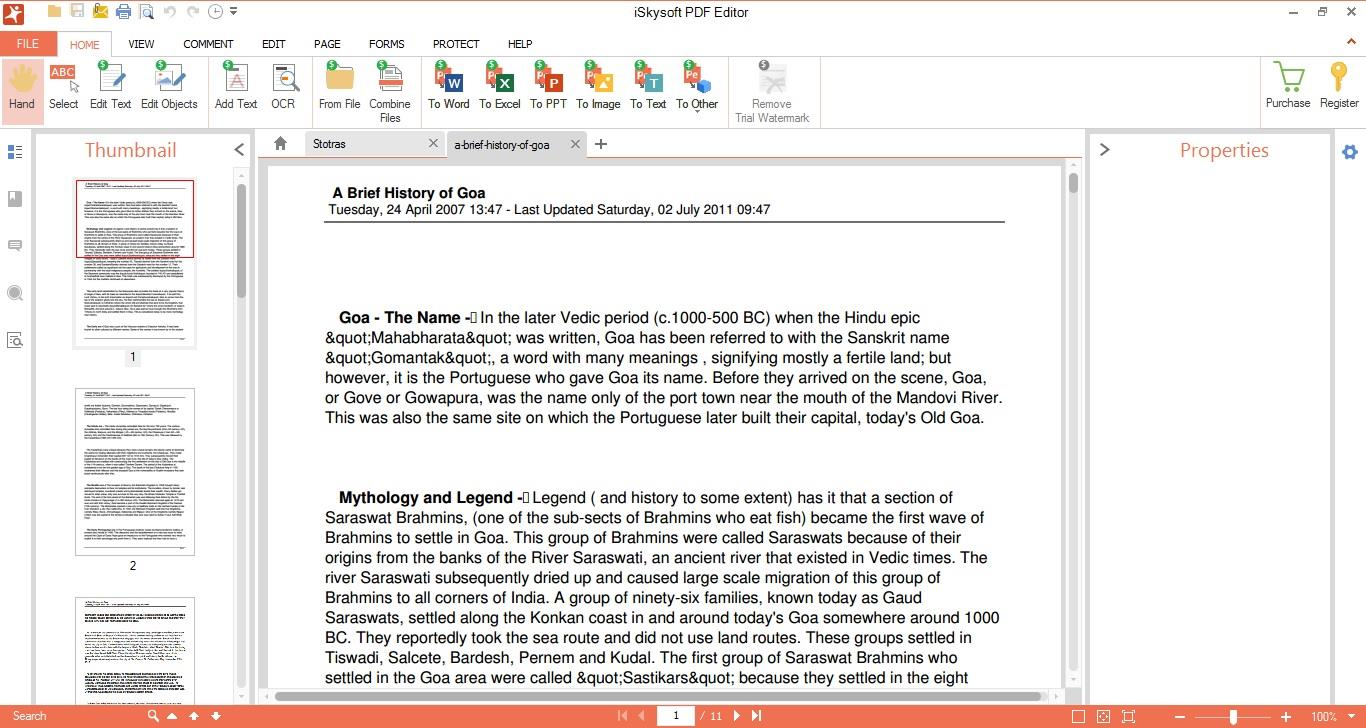 The Tab Will Let You Add Notes Andments To The Pdf Files You Want To Edit