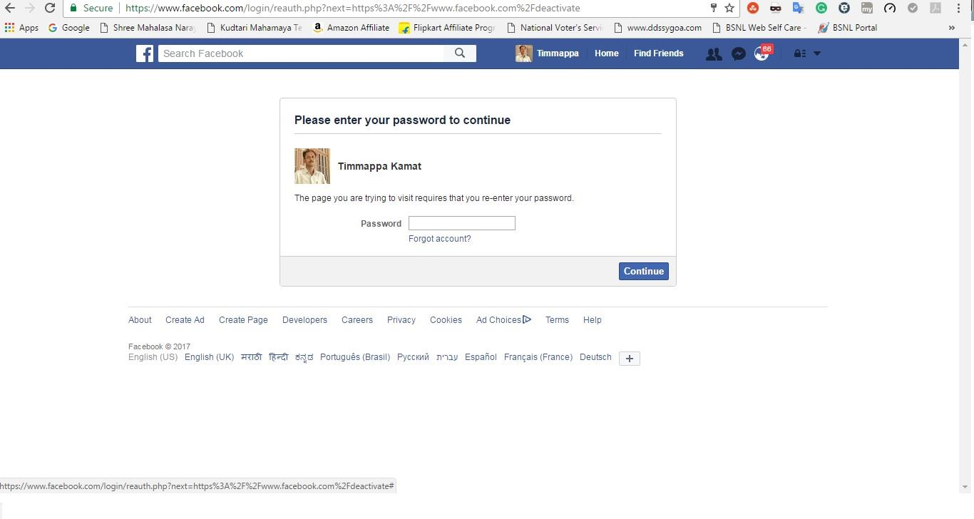 Follow These Steps To Deactivate Your Facebook Account And Keep Using  Messenger How To Use Facebook