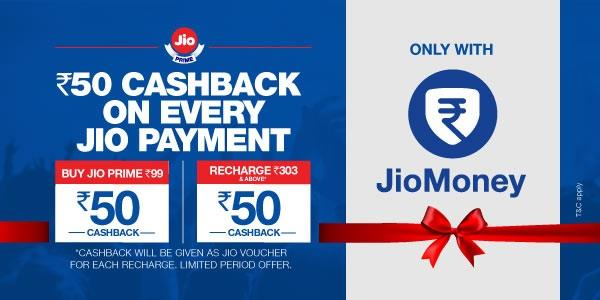 Jio Prime Payment