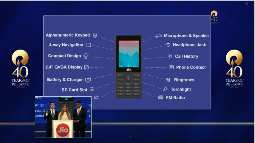 Reliance JioPhone - Overview and Booking Procedure