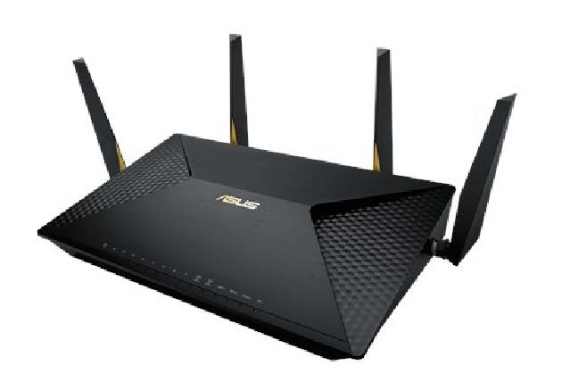 Tri-band routers