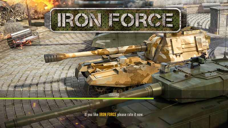 Iron Force logo