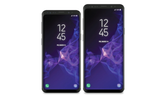 Galaxy S9 and S9 Plus Display