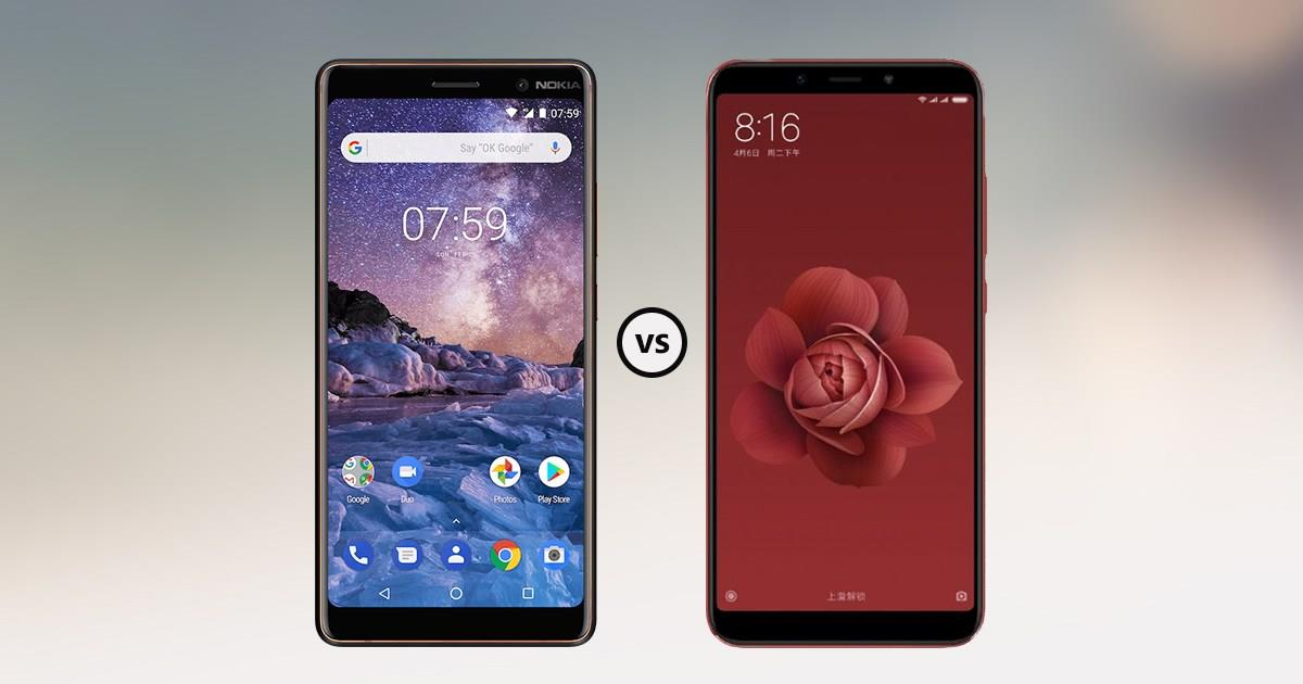 Nokia 7 Plus vs Mi A2