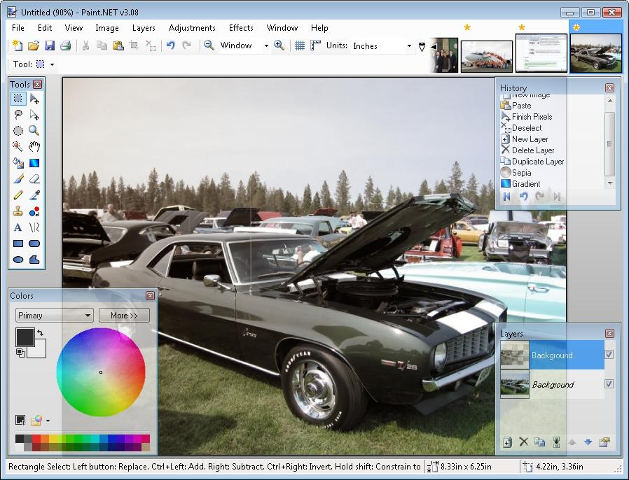 Top 10 best photo editing software for windows 7 and Paint software free download