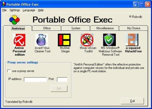 Portable Office Exec