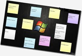 what is sticky notes and why to use it on the Windows 7 environment ?