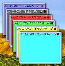 What is sticky notes and why to use it on the Windows 7