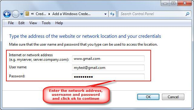 How To Manage Passwords In Windows 7 Credential Manager